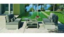 foto exterior Conjunto Sedona con mesa abatible