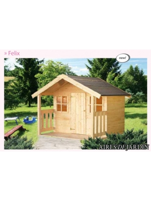 Casita infantil felix 180x112 cm casitas para ni os for Casita infantil jardin