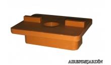 foto exterior Clip de fijación de tarimas de madera
