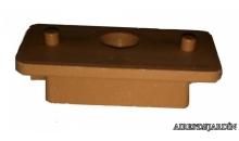 foto exterior Clip de fijación para tarima de Bambú termotratada