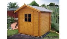 foto exterior Cabaña de madera Acacia 200x200 cm
