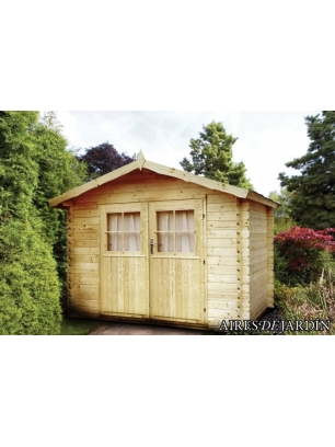 Caba a de madera amapola 260x200 cm caba as para for Cabana madera precio