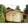 Cabaña de madera Amapola 260x200 cm