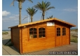 Cabaña de madera Zinnia 500x400 cm