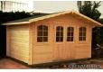 Foto Cabaña de madera Tomillo 400x300 cm