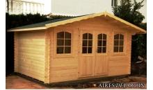 foto exterior Cabaña de madera Tomillo 400x300 cm