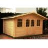 Cabaña de madera Tomillo 400x300 cm