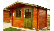 foto exterior Cabaña de madera Camelia 290x220 cm