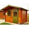 Cabaña de madera Camelia 290x220 cm