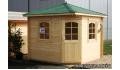 Cabaña de madera Madreselva 260x260 cm.