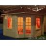 Cabaña de madera Petunia 300x300 cm.