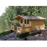 Cabaña de madera Silene 380x320 cm