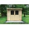 Cabaña de madera Hortensia 290x290 cm