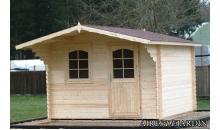 foto exterior Cabaña de madera Orquidea 320x320 cm