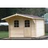 Cabaña de madera Orquidea 320x320 cm