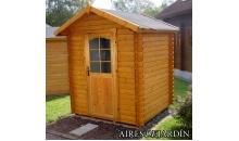 foto exterior Cabaña de madera Azalea 220x220 cm
