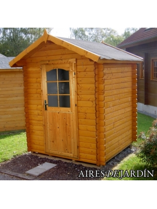 Caba a de madera azalea 220x220 cm tene kaubandus venta for Cabanas para jardin