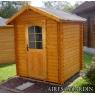 Cabaña de madera Azalea 220x220 cm