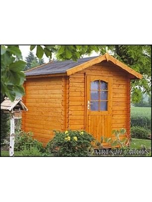 Caba a de madera belladona 220x280 cm tene kaubandus for Cabanas para jardin