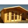 Cabaña de madera Violeta 380x320 cm