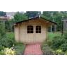 Cabaña de madera Rosa 320x280 cm