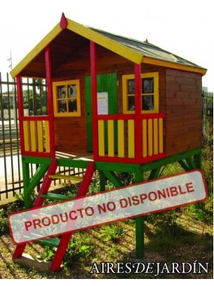Casita Infantil Naroa 182 X 180 Cm Oferta De Casitas Infantiles De - Casas-infantiles-para-jardin