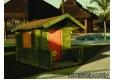 Caseta de Jardin Infantil Susana  135 x 118 cm. (Incluye tela asfáltica) - 1