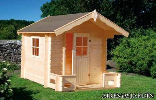Casetas de madera infantiles recomendaciones b sicas de - Caseta madera infantil ...