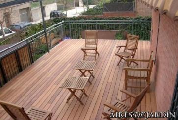 Tarimas de madera para exterior for Tarimas de madera para jardin