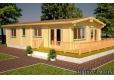 Casa de madera Molly 3 de 1220x620 cm. - 1