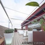 Decoración de oficina con terraza en Barcelona