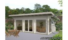 foto exterior Casa de madera Heidi 1 de 640x360 cm.