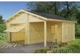 Garage de madera 4 de 530x570 cm. - 1