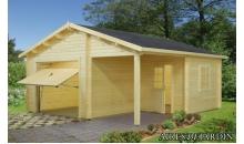 foto exterior Garaje de madera Roger 5 de 530x570 cm.