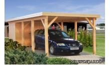 foto exterior Carpot de madera KARL 2 de 360x762 cm.