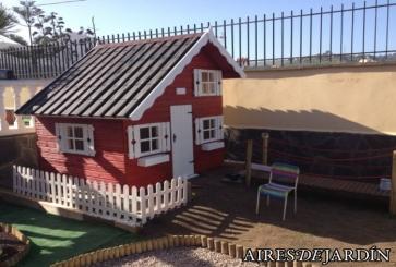 Resultado instalaci n caseta de madera infantil tom - Casas de madera en gran canaria ...