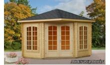 foto exterior Caseta de madera Melanie 1 de 300x300 cm.