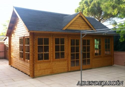 Como instalar paso a paso una caseta de madera claudia - Casetas pvc jardin ...