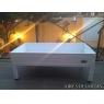 Mesa de cultivo COOLTY BASS 160x60x40 cm. color blanco