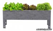 foto exterior Mesa de cultivo Previus en Acero galvanizado de 40 cm.
