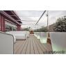 Tarima exterior sintetica AZEK colección Harvest color Arena Clay de 140x25 mm.