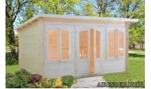 foto exterior Caseta de madera Lisa 1 de 420x320 cm.