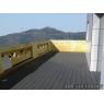 Tarima sintetica Timbertech Terrain color Silver Maple de 2440x136x25 mm.