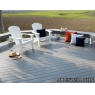 Tarima sintetica Timbertech Terrain color Silver Maple de 2440x136x25 mm.