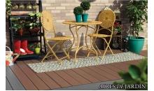 foto exterior Tarima sintetica Timbertech Terrain color Brown Oak de 2440x136x25 mm.