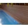 Tarima sintetica Timbertech Earthwood Evolution Tropical color Pacific Rosewood de 2440x138x24 mm.