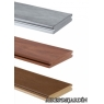 Tarima sintetica Timbertech XLM color Harbor Bronze de 3660x140x25 mm.