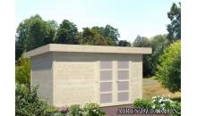 foto exterior Cabaña de madera Lara 2 de 350 x 250 cm.