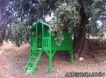 Resultado casita de madera infantil Toby en Granada instalada por los propios clientes