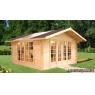 Caseta de madera Irene 1 de 400 x 400 cm.